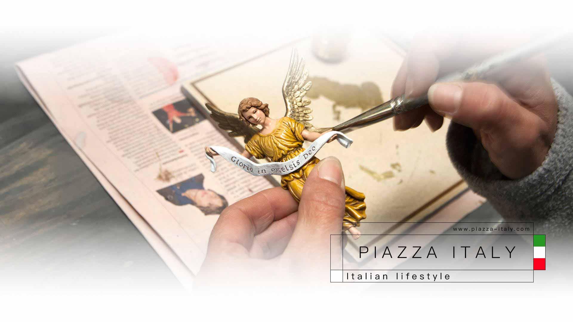 Produzione moderna, dal sapore antico. Le statuine per presepe Landi: Made in Italy 100%.