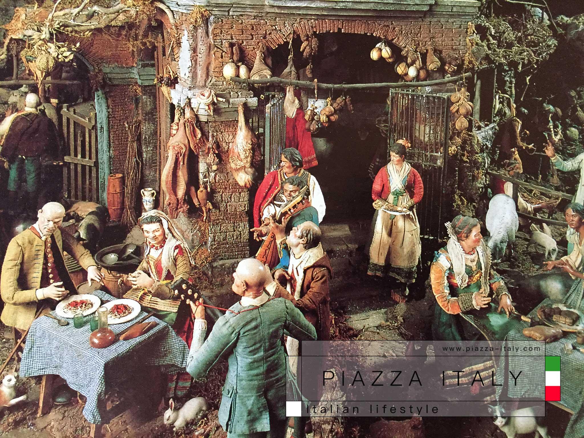 La Taverna - Caserta, Presepe della Reggia
